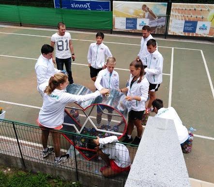 """Националите по тенис до 14 г. дариха """"Капачки за бъдеще"""". Новите ни шампиони и много от най-добрите в света ще играят на Bulgaria Cup на Националния ОББ тенис център"""