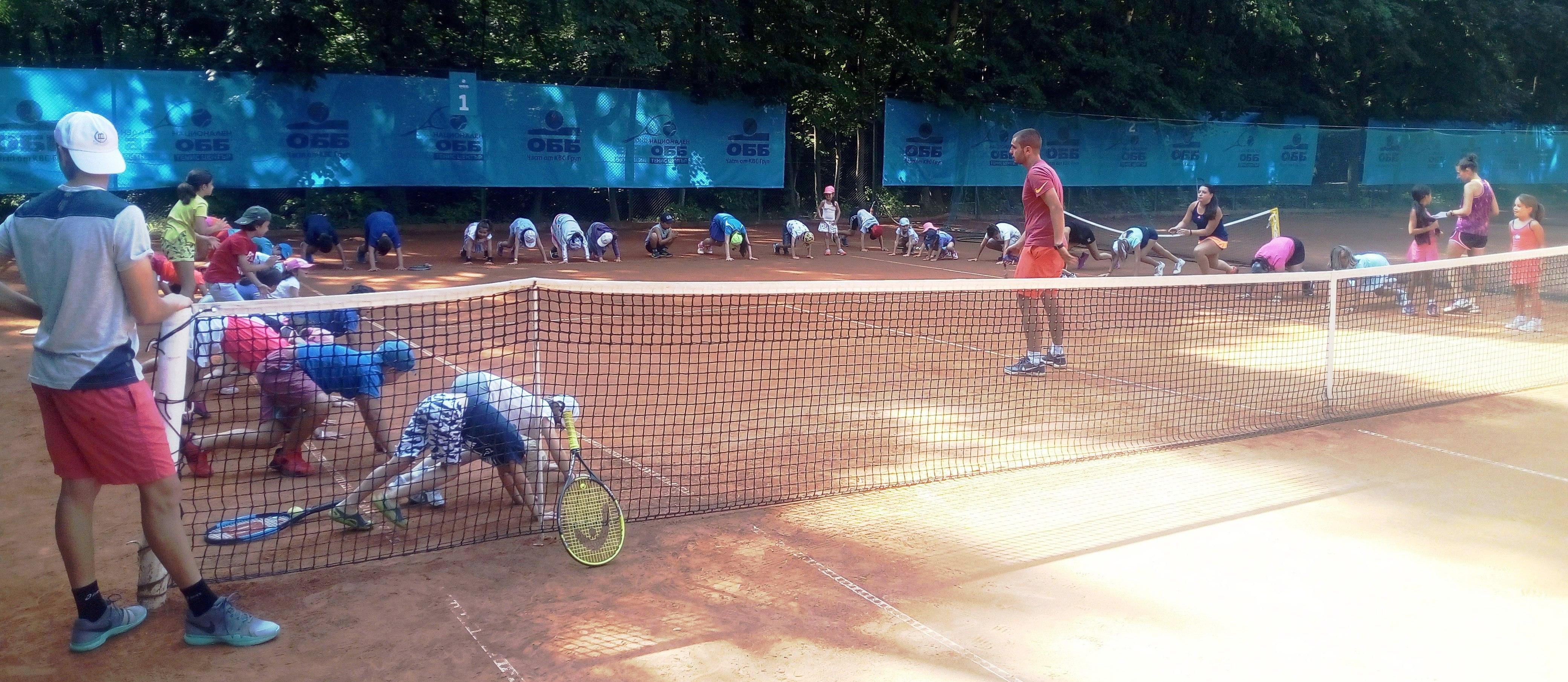 Летен Тенис Лагер