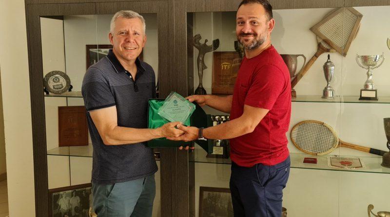 БНТЦ получи поредно признание – за подкрепата на аматьорския тенис
